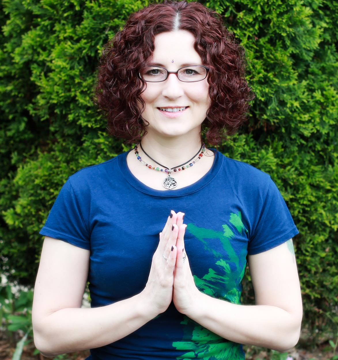 Carrie Hura, massage therapist and yoga instructor